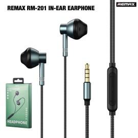 Écouteurs Remax RM-201 - Noir