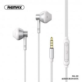 Écouteurs Remax RM-201 - Gris