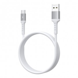 Cable Micro-USB Remax RC-161m 1M / 2.1A - Blanc