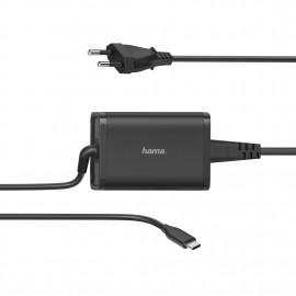 Chargeur Universel pour pc USB-C Hama 5-20V/65W...