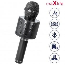 Microphone Karaoke MAXLIFE Bluetooth Avec Haut...