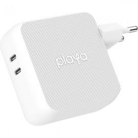 Chargeur 2 Ports USB-C 63W Playa By BELKIN - Blanc
