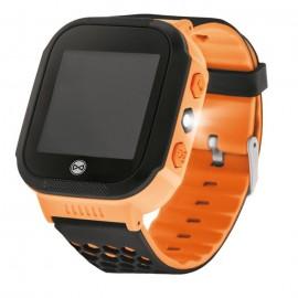 Montre Connecté GPS Enfant Forever Find Me KW-200 - Noir + Orange