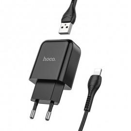 Chargeur HOCO Type-C 1M / 2.1A - Noir