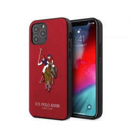Coque U.S. POLO ASSN Pour iPhone 12 / 12 Pro - Red