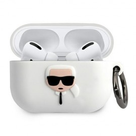 Etui Silicone Karl Lagerfeld pour Airpods Pro -...