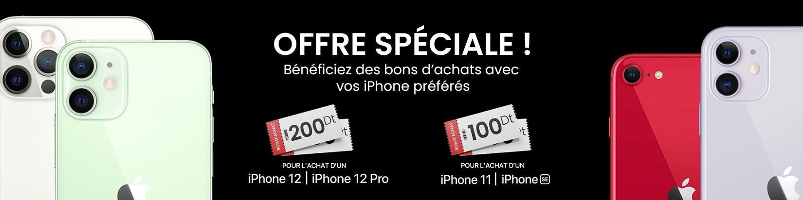 Bon d'achats iPhone