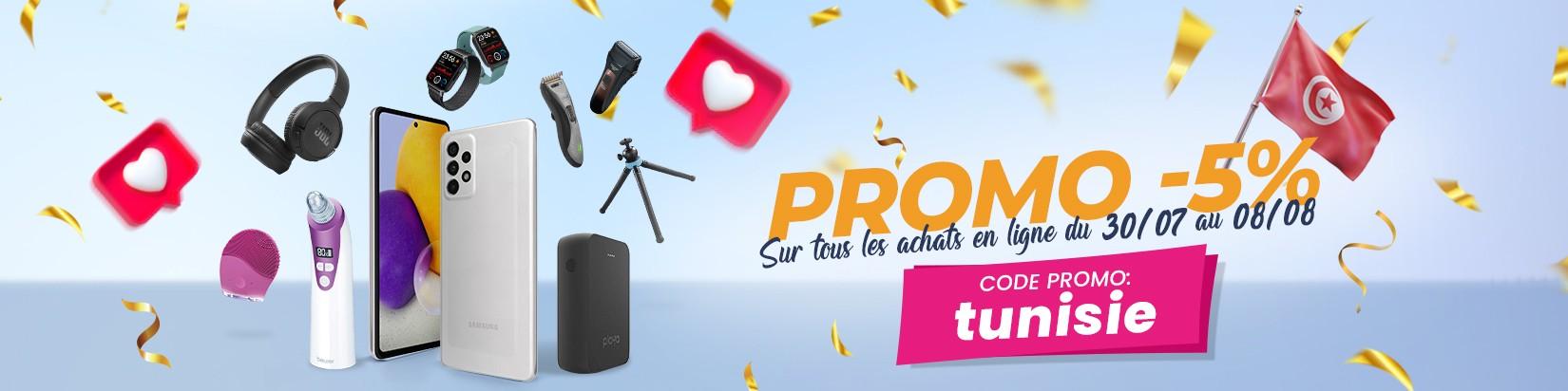 Code Promo : tunisie